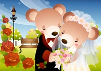 Newlyweds teddy