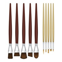 Paintbrushes set