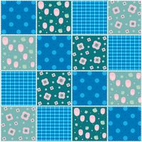 Patchwork quilt pattern design
