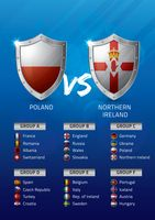 Poland vs northern ireland