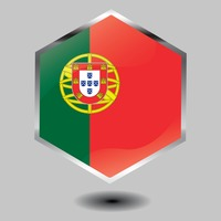 Portugal flag button