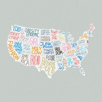 Quotes in american map