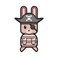Rabbit pirate