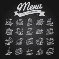 Restaurant menu collection