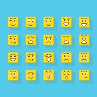 Set of emoticons