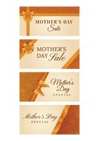 Set of mothers day sale designs
