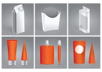 Set of packaging icons