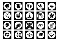 Set of spa icons