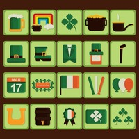 Set of st patrick's day icons