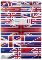 Set of uk banners