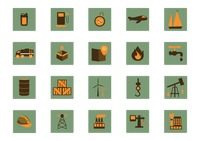 Shipment industry icons