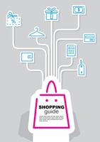 Shopping guide infographic