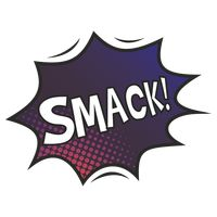 Smack comic speech