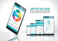 Smartphone with app of the year