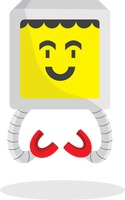 Smiley robot