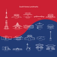 South korea landmarks