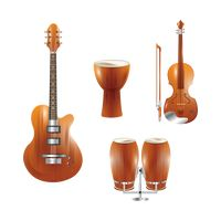 String and percussion instruments