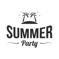 Summer party label