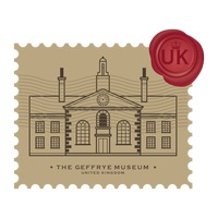 The geffrye museum postage stamp