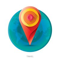 Travel mobile icon