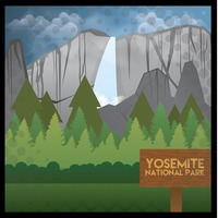 Yosemite national park wallpaper