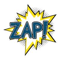 Zap comic speech