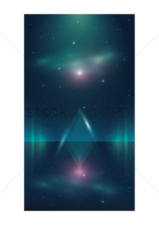 Vectors : Abstract wallpaper for mobile phone