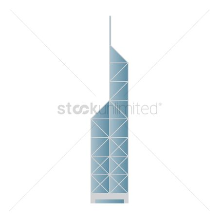 Buildings Landmarks : Bank of china tower