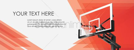 Background : Basketball hoop wallpaper