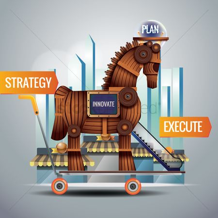 Shopping : Business strategy concept