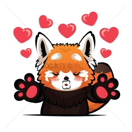 Free Red Panda Stock Vectors | StockUnlimited