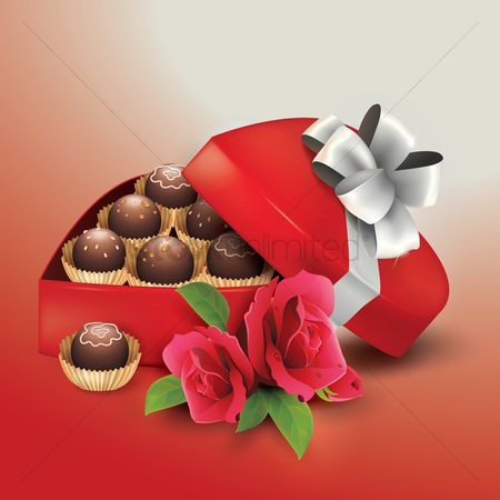 Romantic : Chocolate box