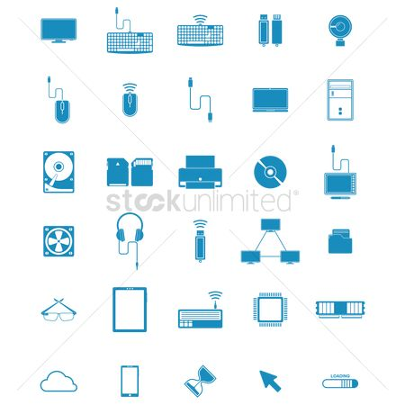 Vectors : Collection of computing items