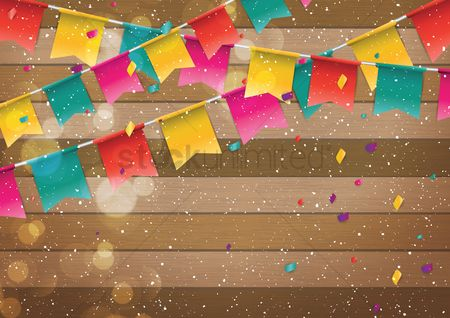 Party : Colorful buntings