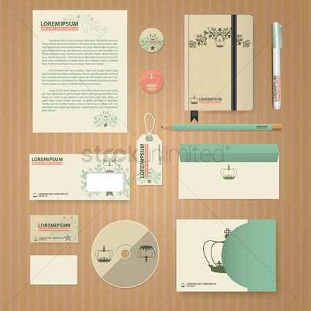 Ribbon : Corporate identity elements