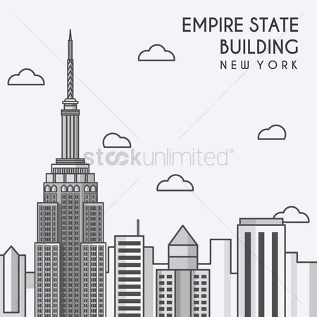 Buildings Landmarks : Empire state building