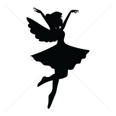 fairy cut out template - free stencils stock vectors stockunlimited