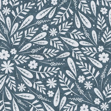 Vintage : Floral background