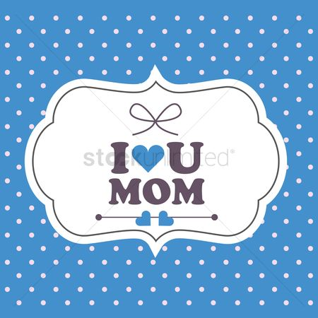 Ribbon : Happy mother s day card