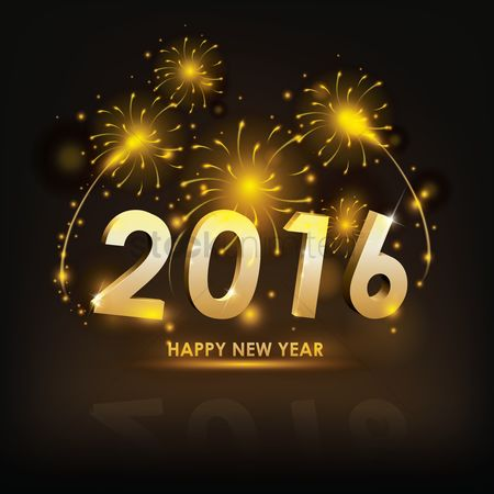 Celebration : Happy new year 2016