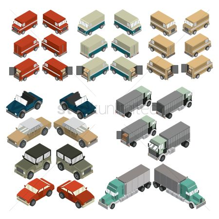 Celebration : Isometric vehicles