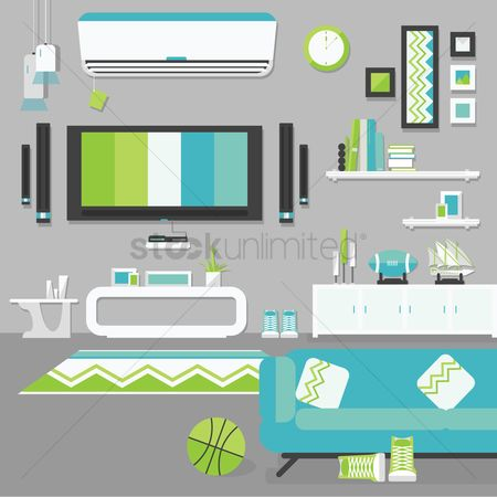 Interior : Living room collection