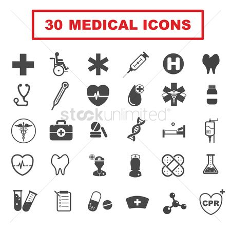 Business : Medical icons