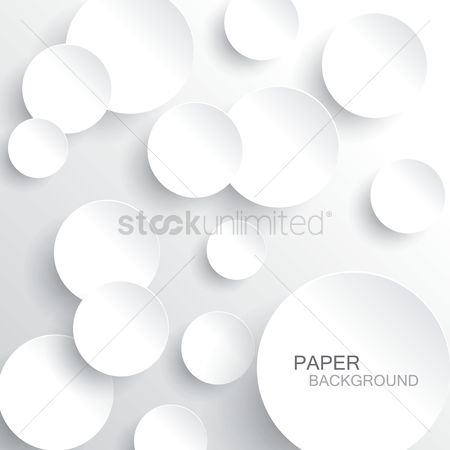 Background : Round paper concept