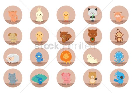 Animal : Set of animal icons