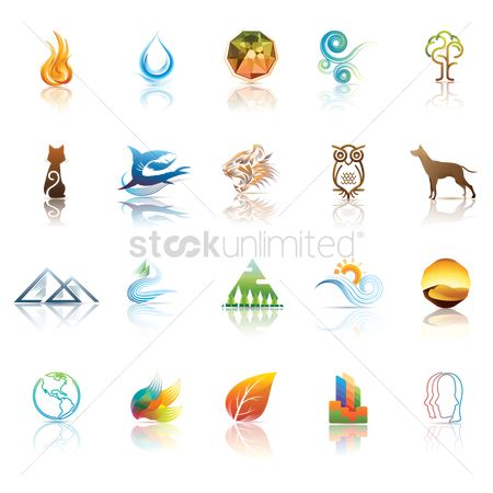 Water : Various icon collection