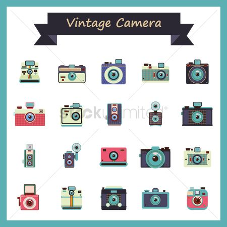 Vintage : Vintage camera collection