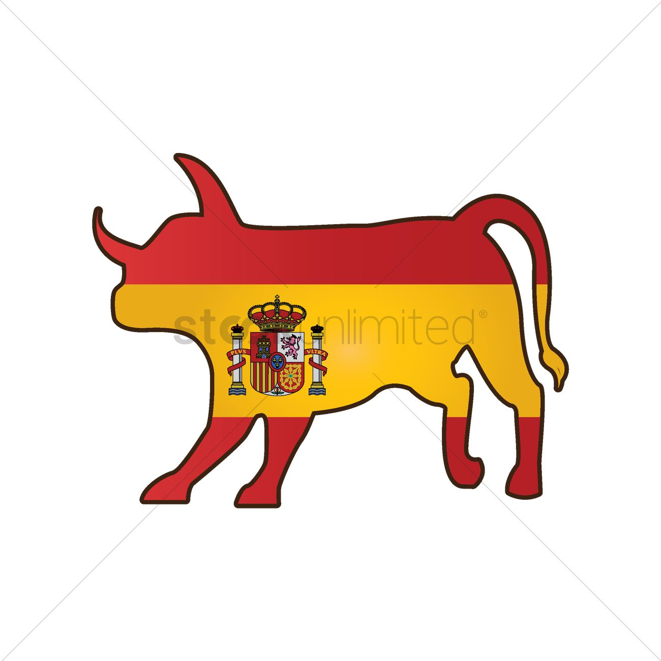bull with spain flag vector image 1565305 stockunlimited running greyhound clipart free running girl clipart free