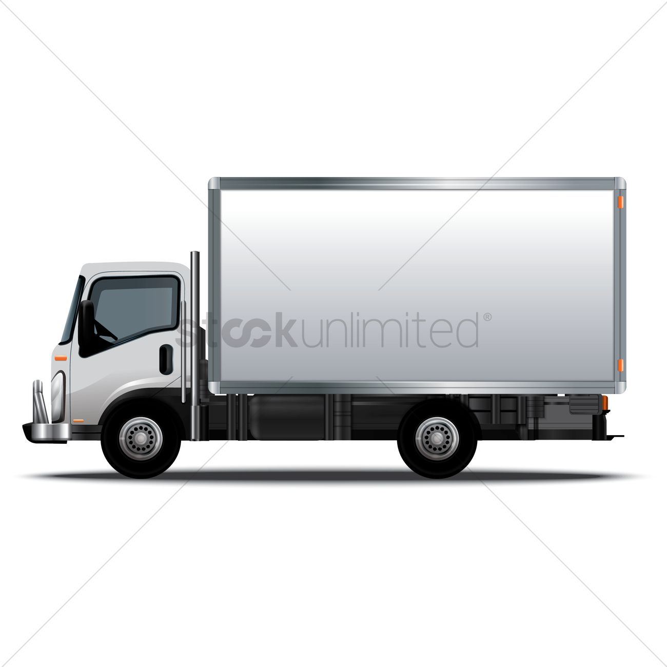 Delivery truck Vector Image - 1556725 | StockUnlimited