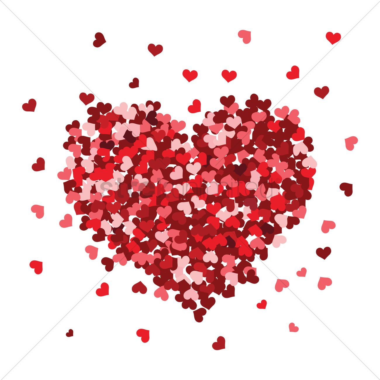 flower heart vector image    stockunlimited, Beautiful flower